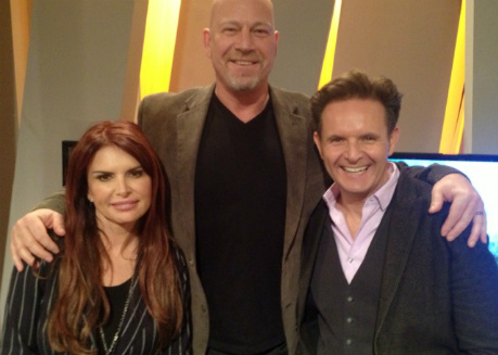 Drew with Roma Downey & Mark Burnett