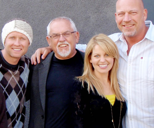 Drew Marshall & Candace Cameron Bure and Valeri Bure and John Ratzenberger