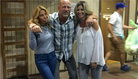Drew Marshall & Candace Cameron Bure and Tracy Melchior