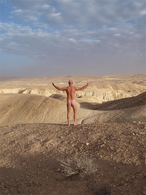 Vulnerable in the Desert - if you find this picture offensive, wait until you hear our show!